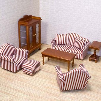 Миниатюрная мебель для кукольных домиков своими руками