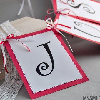 Как сделать табличку из картона с именем