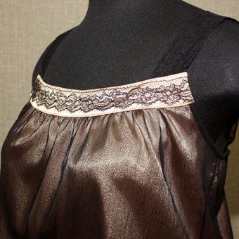 ...ые гг. Платье шилось для тематической ретро-вечеринки в стиле 20-ых.