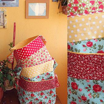 Текстильные корзины своими руками
