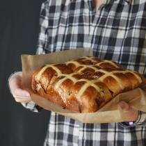 Chocolate Hot Cross Buns – new recipe I tried this Easter