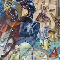 Saatchi art artist eugene ivanov; painting, angel flight #art