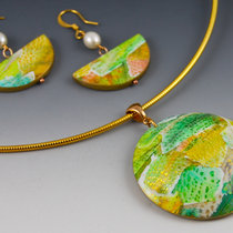 Golden Rainbow Jewelry Set