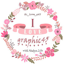 """I love Graphic45"" CП с Nadya Lifa"""