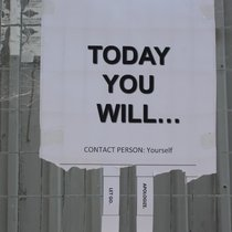today you will