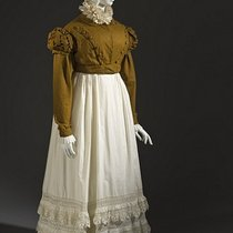 Woman's Spencer Jacket and Petticoat, circa 1815